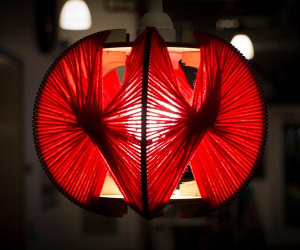 Parabolic String Lamp