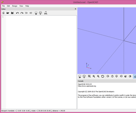 OpenSCAD, The Instructable