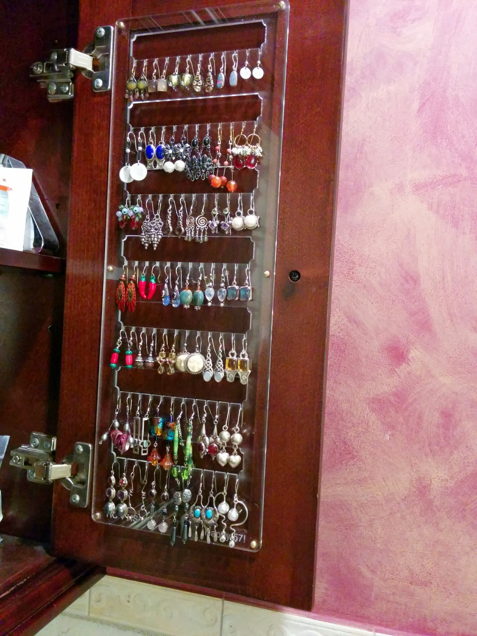 Picture of Earring Organizer Rack