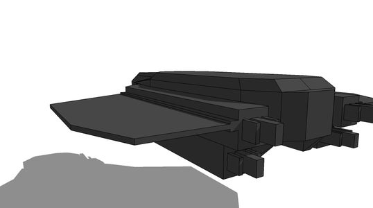 My Sketch Up Ships