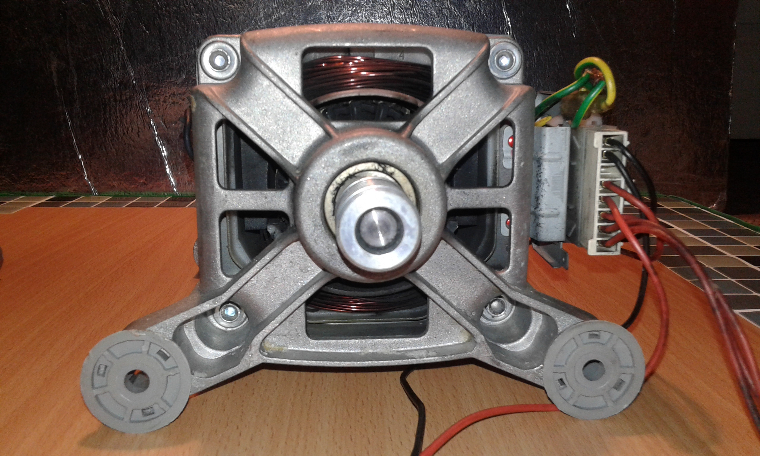 Picture of The Washing Machine Motor