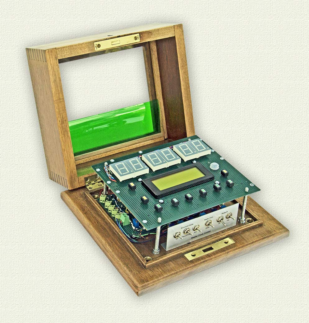 Picture of Construction- Case/mounting Assembled Boards