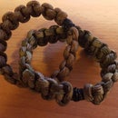 DIY Paracord bracelet with a magnetic Buckle