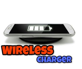 Wireless Charger for Any Mobile || Easy || Simple || BD135
