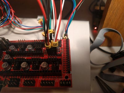 Wiring the Endstops and Thermistors