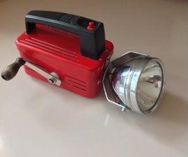 Crank Flash Light