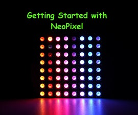 Getting Started With NeoPixel / WS2812  RGB LED