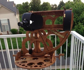 CNC Telescope, semi-Nasmyth mount