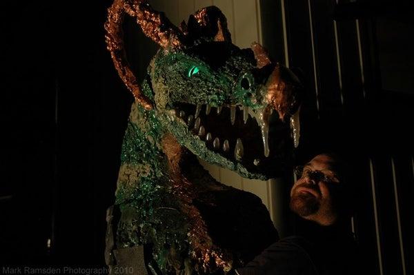 Scary Dragon Costume