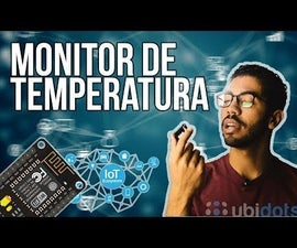 (IoT) Intertnet of Things With Ubidots (ESP8266+LM35)