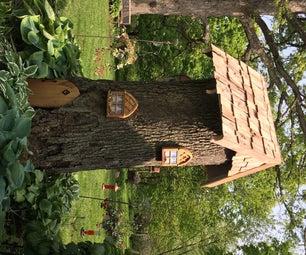 Gnome Tree Stump Home