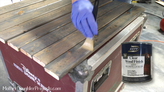 Stain and Seal Slats