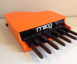 Arduino MIDI Bass Pedals