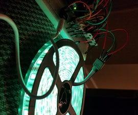 Music Sync Flashing LEDs (Arduino & MSGEQ7)