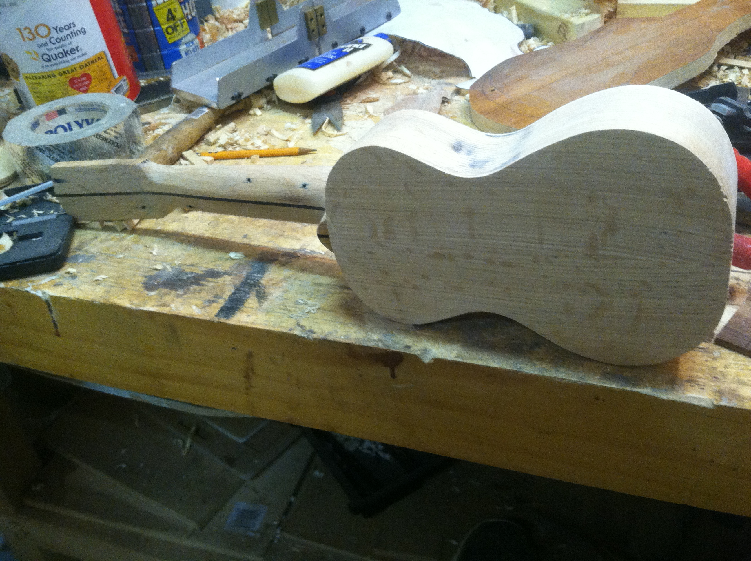 Picture of Starting to Look Like a Ukulele