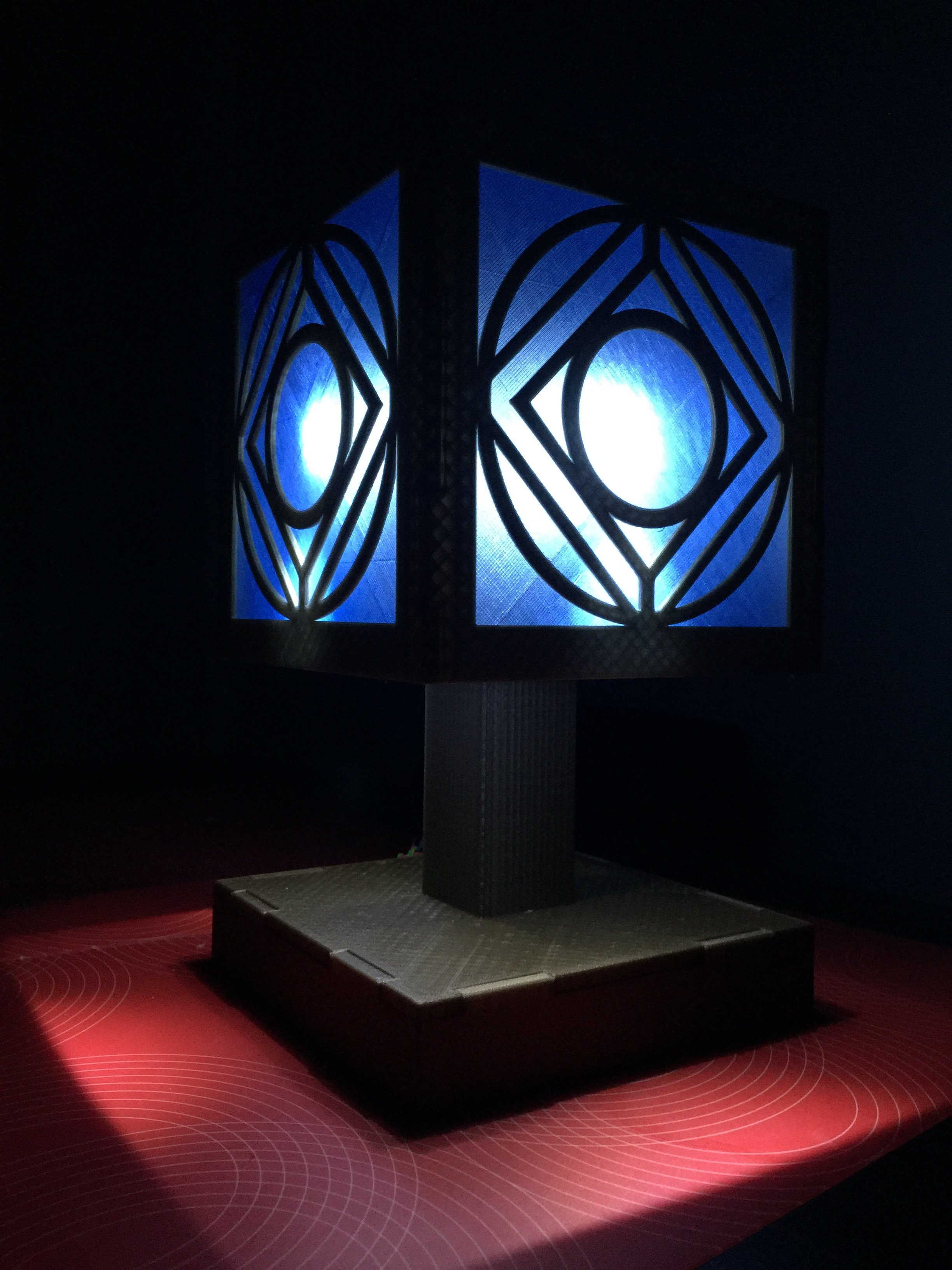 Picture of Holocron Lamp for the Discerning Jedi