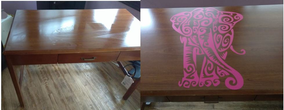 Picture of Upgrade Your Dorm Room Desk (or Just About Anything) With Vinyl Art