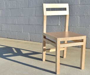 Modern Plywood Chairs - 2 Chairs,1 Sheet of Plywood