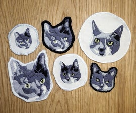 Cat Portrait Patches