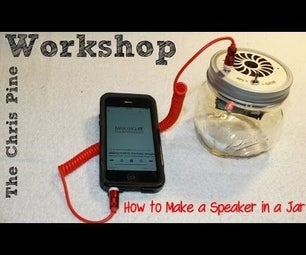 How to Build a Speaker in a Jar. (Kit)