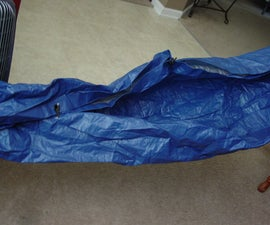 10 minute paracord hammock