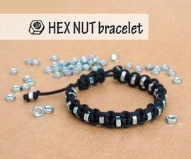 Shamballa Bracelet Hex Nut