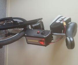 Electric unicycle Arduino DIY