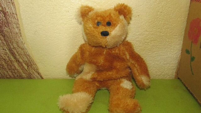 Picture of Hand Sewn Teddy Bear