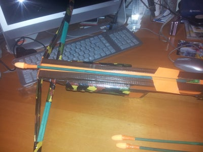 Crossbow Finishing Touches and the Arrows!