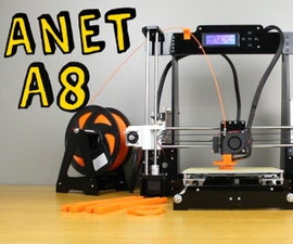 Beginners Guide to 3D Printing - Anet A8 DIY 3D Printer Kit