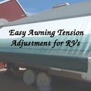 RV Awning Tension Adjustment