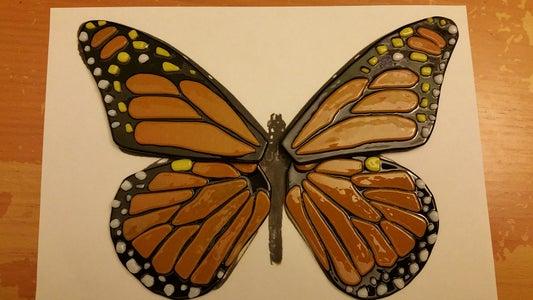 Glass Butterfly Wings