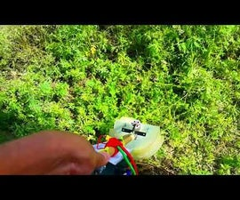Homemade Electric Weed Whacker!