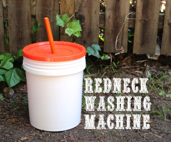 Redneck Washing Machine