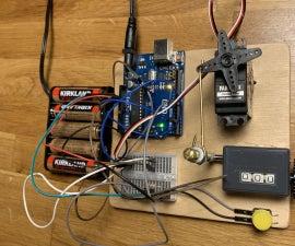 Arduino Controlled Mechanical Random Number Generator