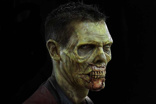 ULTIMATE ZOMBIE PROSTHETICS MAKEUP - APPLICATION & PAINTING GUIDE!