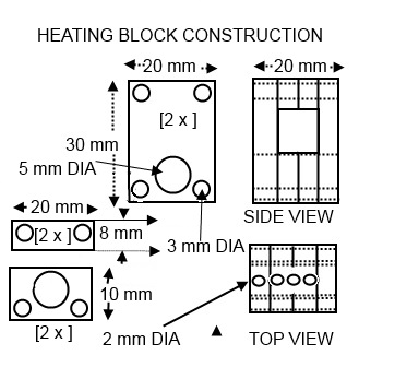 Picture of Heating Block Construction
