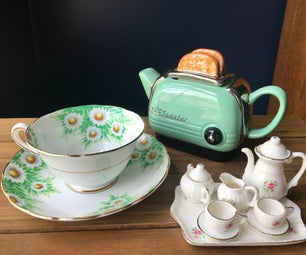 Easy & Inexpensive Little Girl Birthday: Tea Party