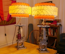 Lamps from Large Valves