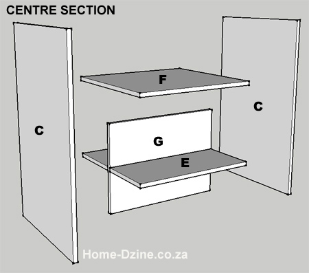 Picture of Assemble Centre Section