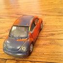 Custom Painted Toy Car