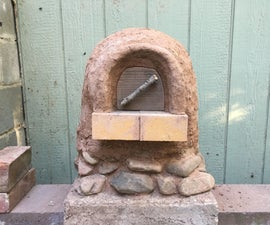 MINI WOOD-FIRED EARTH OVEN!