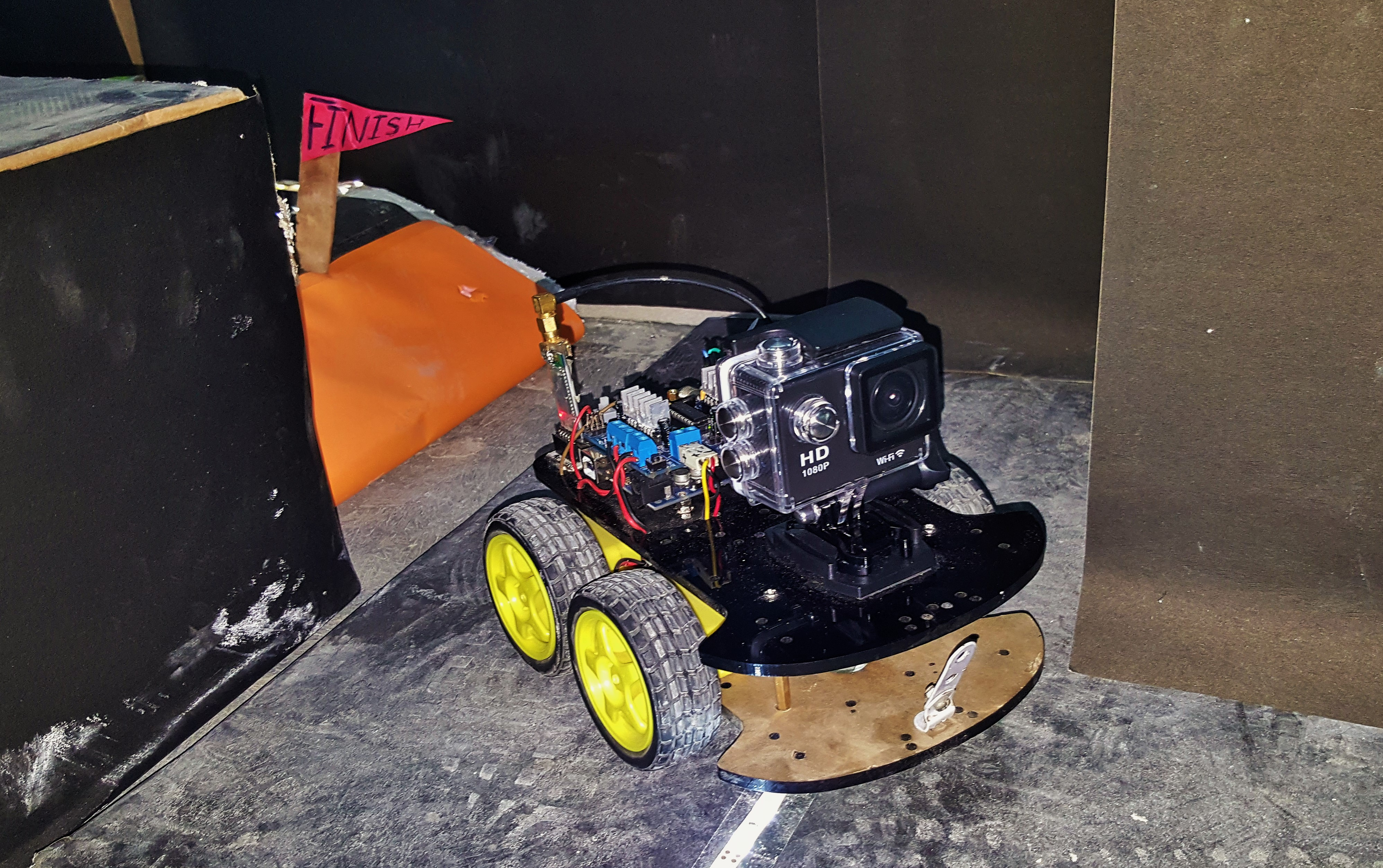 Picture of Bluetooth Controlled Vehicle With WiFi Camera