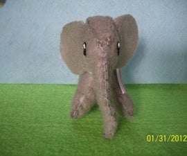 Felt Elephant Softie