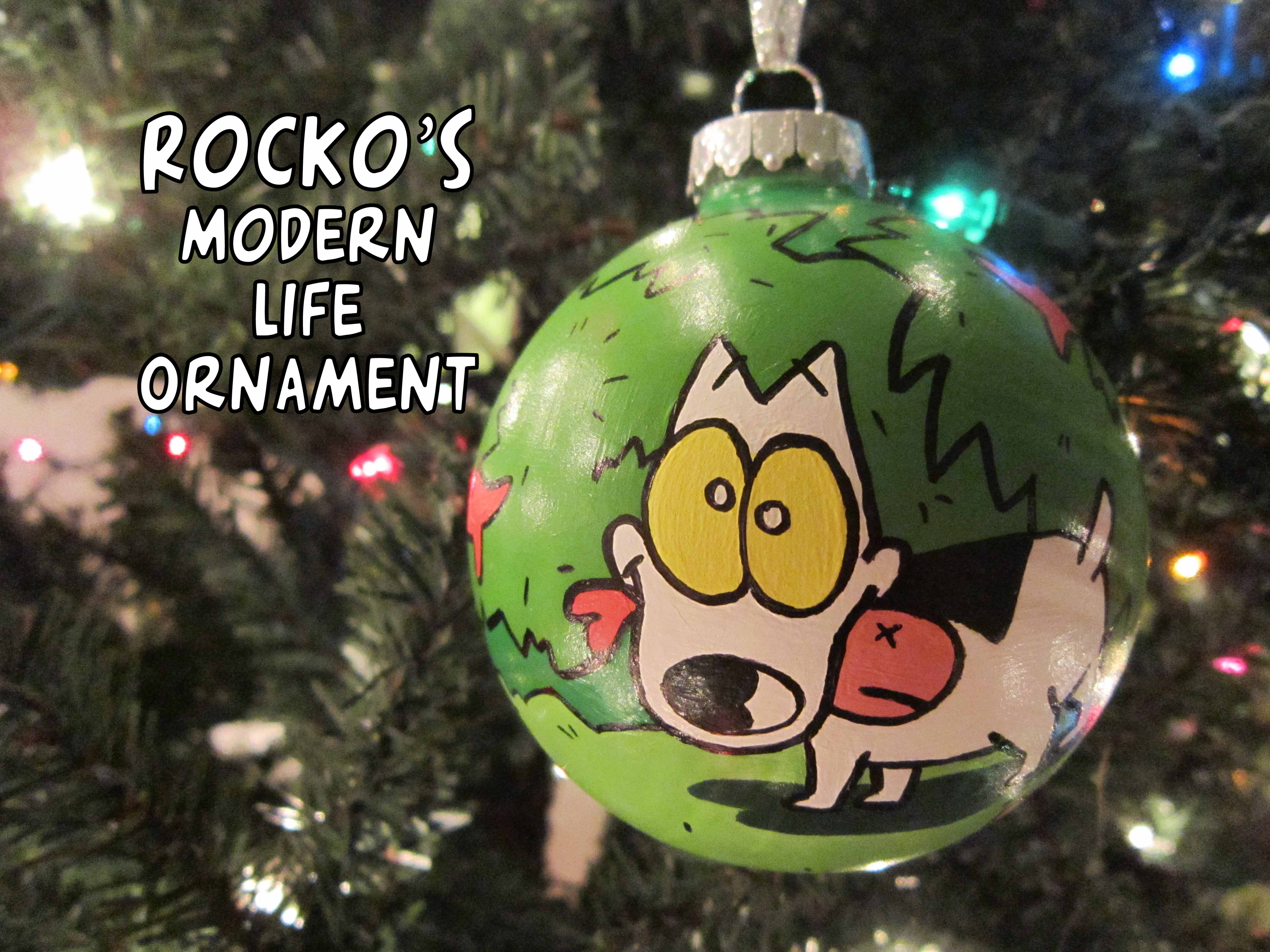 Rockos Modern Christmas.Rocko S Modern Life Ornament Spunky 6 Steps With Pictures