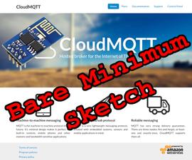 MQTT Bare Minimum Sketch for ESP8266