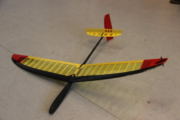 Creating an F3K RC Airplane