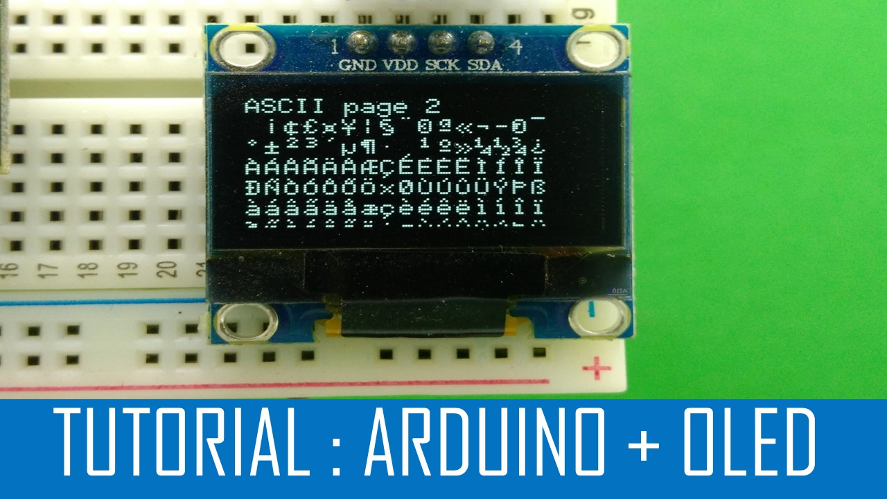 Picture of How to Interface Oled and Arduino (Part -1)