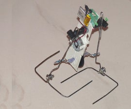 How to Make a Simple Two Legged  Walking Robot