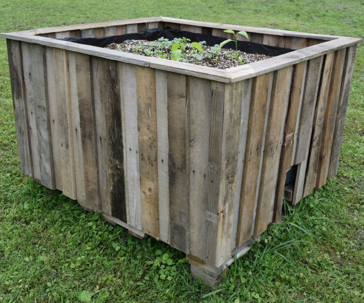 Build a Large Self Watering Garden & Greenhouse From Reused Materials